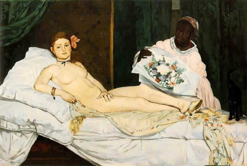 1D -Edouard-Manet-Olympia-1863-parigi-museo-d'orsay