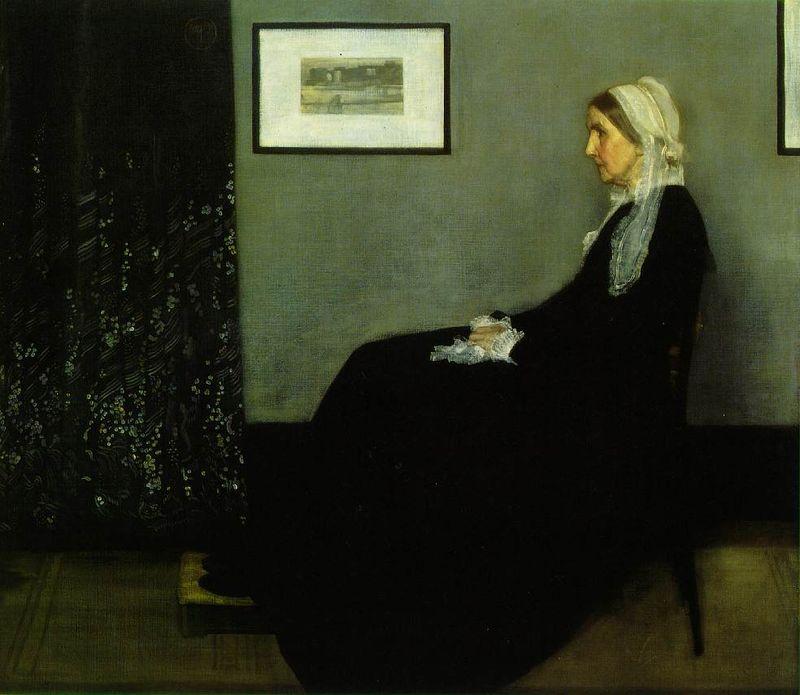 Whistler.painter-mother