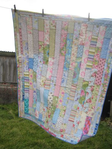 Wall paper quilt 003