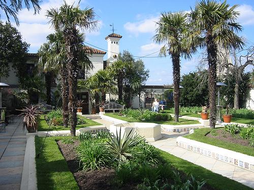 Derry & Toms rooftop garden, Kensington W8