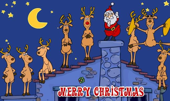 Santa's Deer2