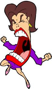 Clipart-angry-woman