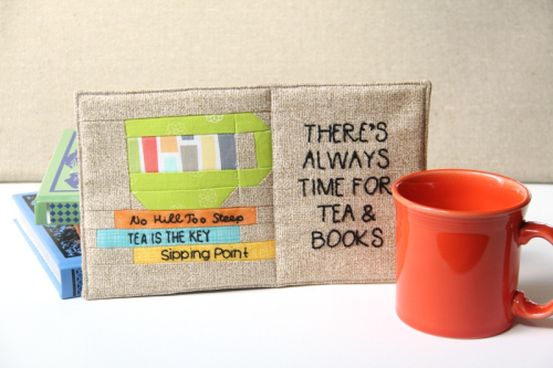 There's+Always+Time+for+Tea+and+Books+Mug+Mat+from+craftystaci.com