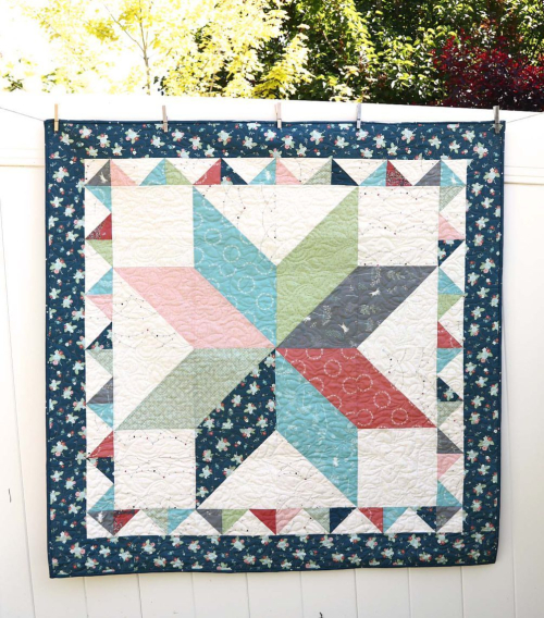 Lone-Star-Baby-Quilt-tutorial-by-Amy-Smart