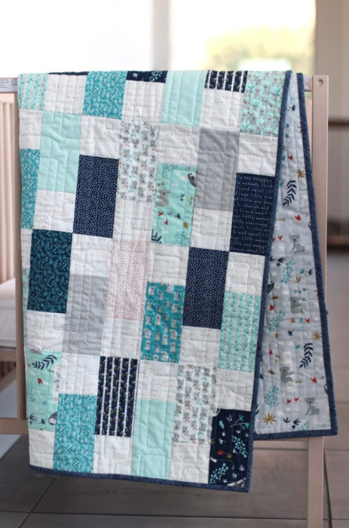 Bricks-crib-quilt-tutorial