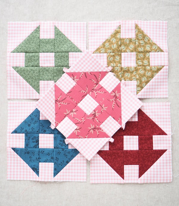 Churn-Dash-Quilt-Block-Tutorial