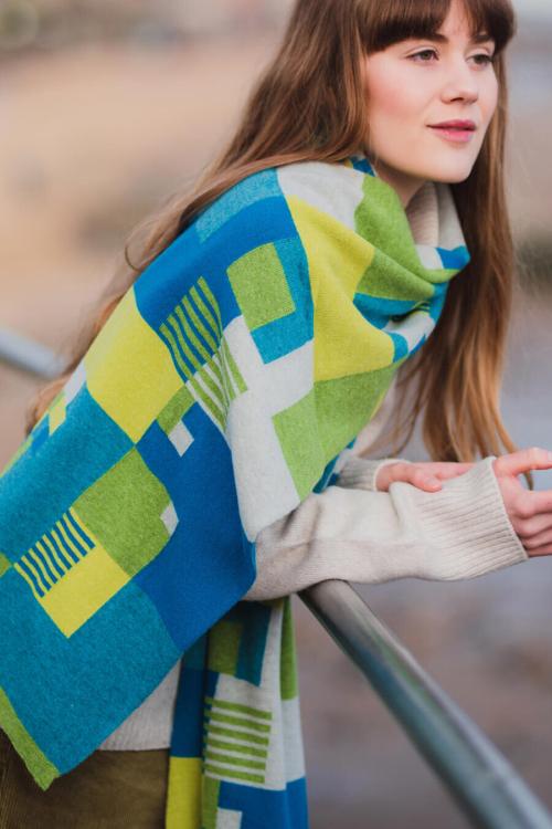 Eriskay+colour+block+scarf++by+Collingwood-Norris